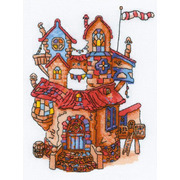 """Набор для вышивания крестом Риолис """"Сказочный домик"""""""