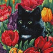 """Набор для выкладывания мозаики Белоснежка """"Среди тюльпанов"""""""
