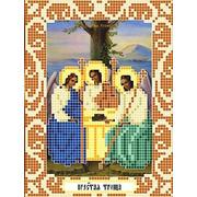 """Канва/ткань с нанесенным рисунком Божья коровка """"Святая Троица"""""""