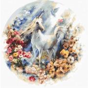 """Набор для вышивания крестом Letistitch """"Unicorn"""""""