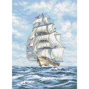 """Набор для вышивания крестом Letistitch """"Ship"""""""