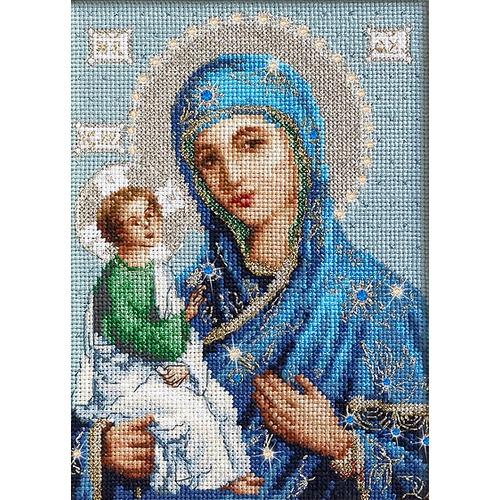 Икона божией матери иерусалимская вышивка 35