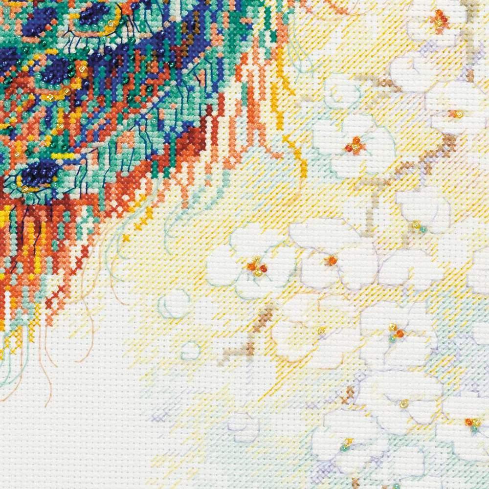 Персидский сад вышивка крестом