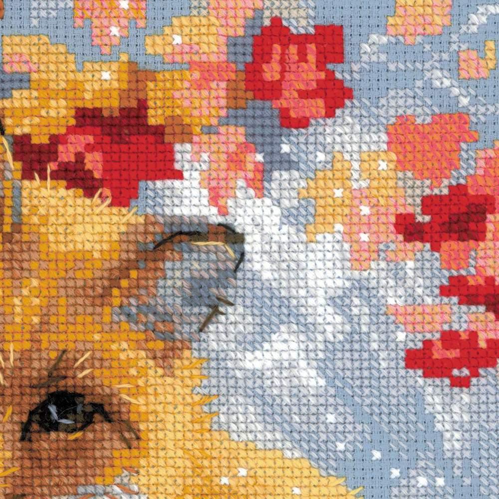 Вышивка лисичка риолис отзывы 54