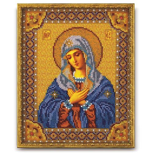 """Набор для вышивания бисером Радуга бисера (Кроше) """"Богородица Умиления"""""""