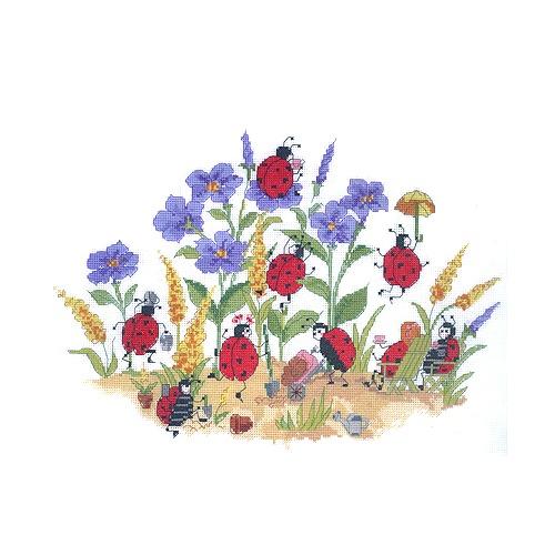 """Набор для вышивания крестом Candamar Designs """"Хозяйки сада"""""""
