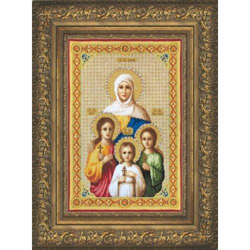 """Набор для вышивания крестом Чаривна Мить """"Вера, надежда, Любовь и их мать Софья"""""""