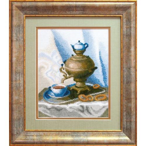 """Набор для вышивания крестом Чаривна Мить """"Приглашение к чаю"""""""