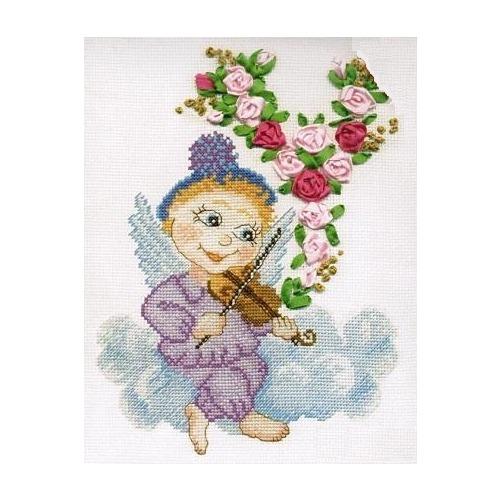 """Набор для вышивания крестом Марья искусница """"Скрипка"""""""