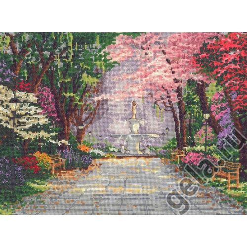 """Набор для вышивания крестом Candamar Designs """"Романтичный сад"""""""