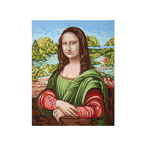 "Канва/ткань с нанесенным рисунком Gobelin-L ""Джоконда"""