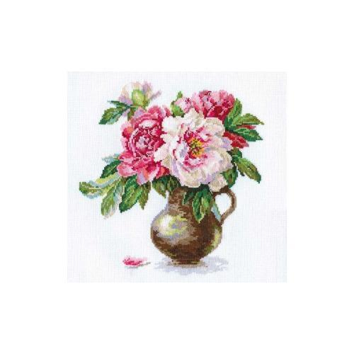 """Набор для вышивания крестом Алиса """"Цветущий сад: Пионы"""""""