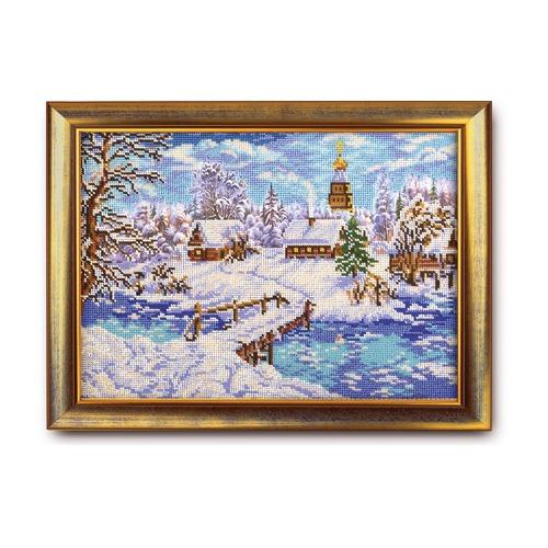 """Набор для вышивания бисером Радуга бисера (Кроше) """"Рождественская сказка"""""""