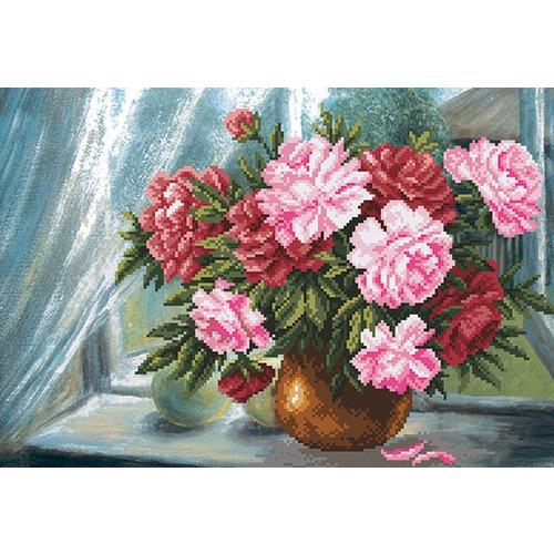 """Набор для вышивания бисером Матрёнин посад """"Цветы радости"""""""