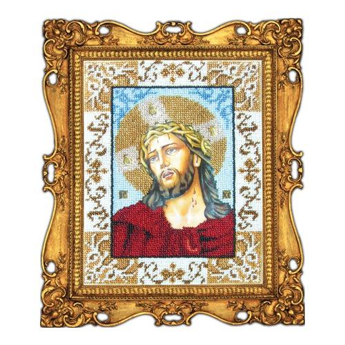 """Набор для вышивания бисером Вышиваем бисером """"Иисус в терновом венце"""""""