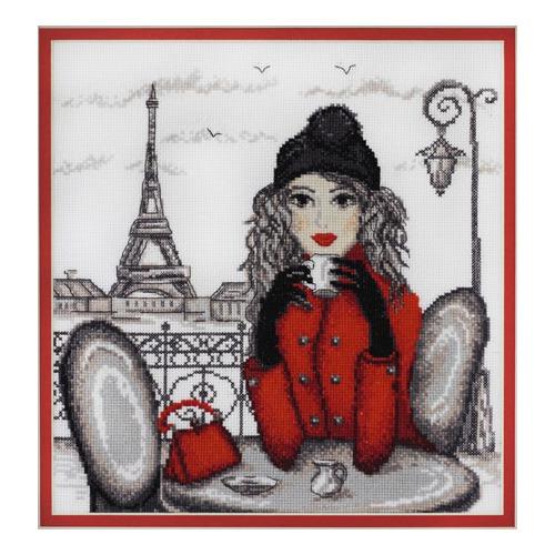 """Набор для вышивания крестом Марья искусница """"Париж"""" по рисунку О. Куреевой"""