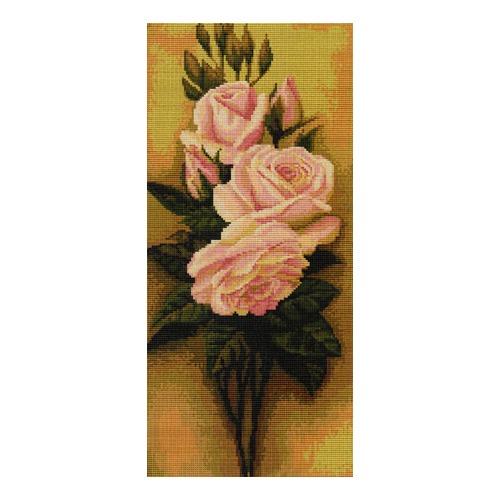 """Набор для вышивания крестом Luca-S """"Розы"""""""