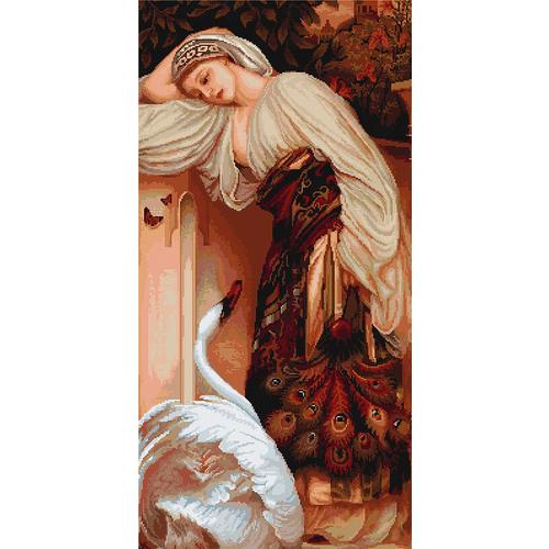 """Набор для вышивания крестом Luca-S """"Одалиска"""""""