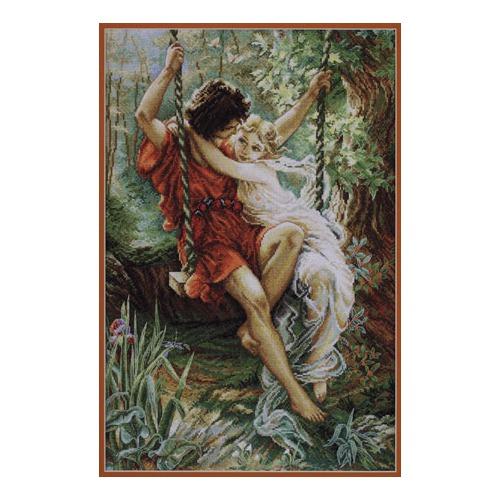 """Набор для вышивания крестом Марья искусница """"Весна"""""""