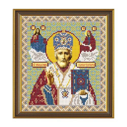 """Набор для вышивания бисером Nova sloboda """"Святитель Николай Архиепископ Мир Ликийских"""""""