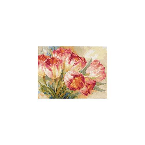 """Набор для вышивания крестом Алиса """"Тюльпаны"""""""