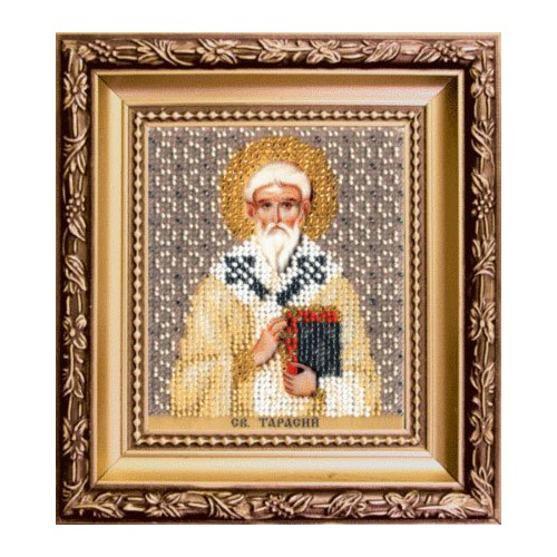 """Набор для вышивания бисером Чаривна Мить """"Икона святого Тарасия епископа Константинопольского"""""""