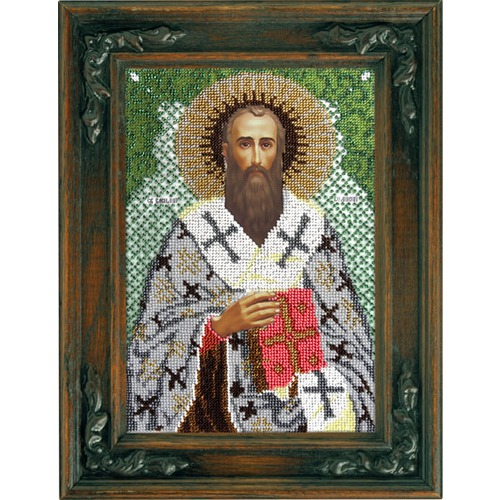 """Набор для вышивания бисером Вышиваем бисером """"Святой Василий Великий"""""""