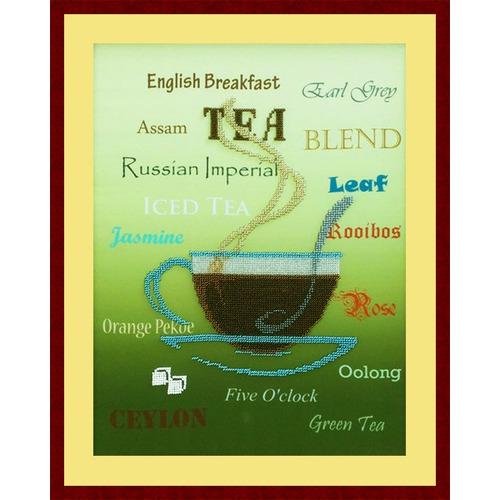 """Набор для вышивания бисером Zengana """"Чай"""""""