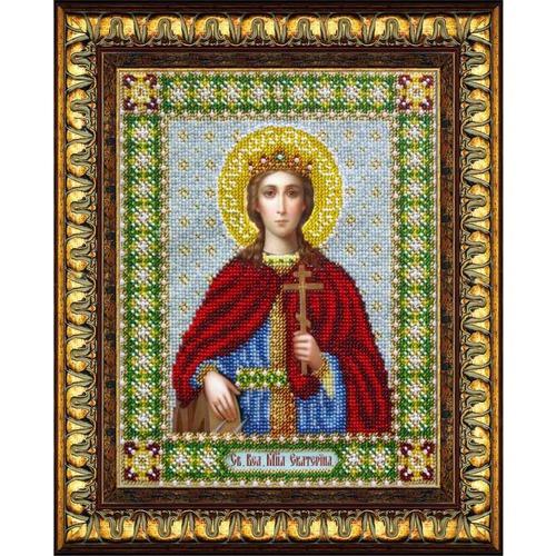 """Набор для вышивания бисером Паутинка """"Святая Великомученица Екатерина"""""""