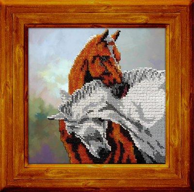 """Набор для вышивания бисером Вышиваем бисером """"Лошади"""""""