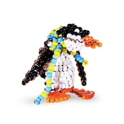 """Бисероплетение Радуга бисера (Кроше) """"Пингвин"""""""