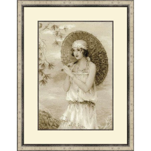 """Набор для вышивания крестом Риолис """"Старая фотография. Ривьера"""""""