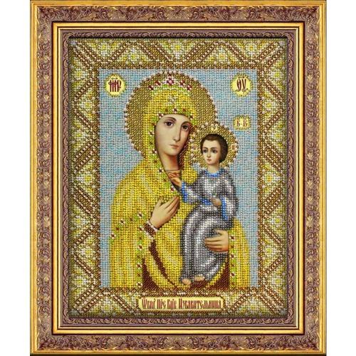 """Набор для вышивания бисером Паутинка """"Пресвятая Богородица Избавительница"""""""