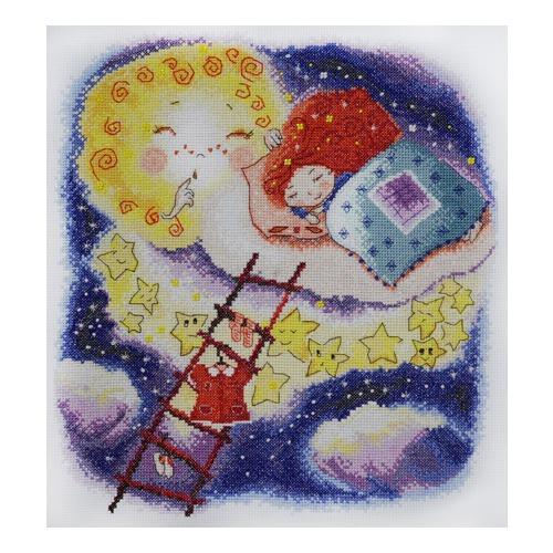 """Набор для вышивания крестом Марья искусница """"Спокойной ночи"""""""