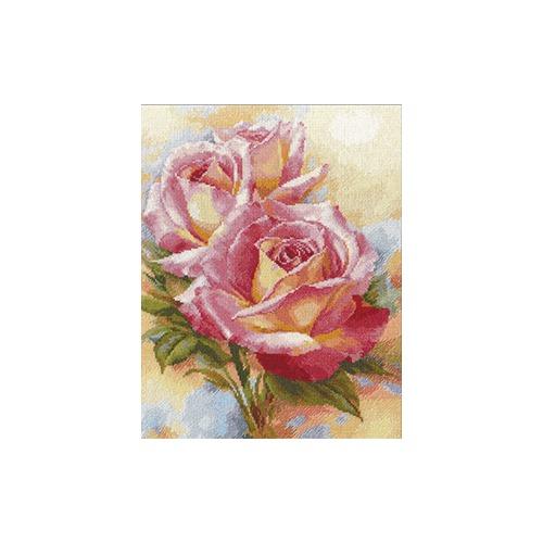 """Набор для вышивания крестом Алиса """"Розовые мечты"""""""