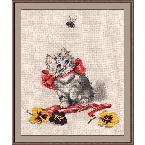 """Набор для вышивания крестом Овен """"Маленький охотник"""""""