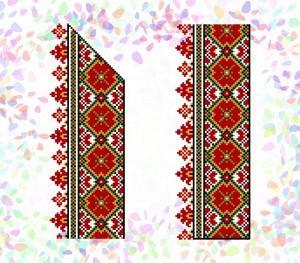 """Флизелин пришивной/клеевой confetti """"Гуцульский орнамент"""""""