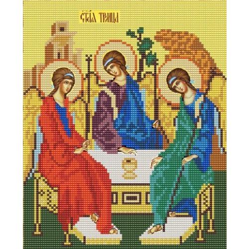 """Канва/ткань с нанесенным рисунком Конёк """"Святая Троица"""""""