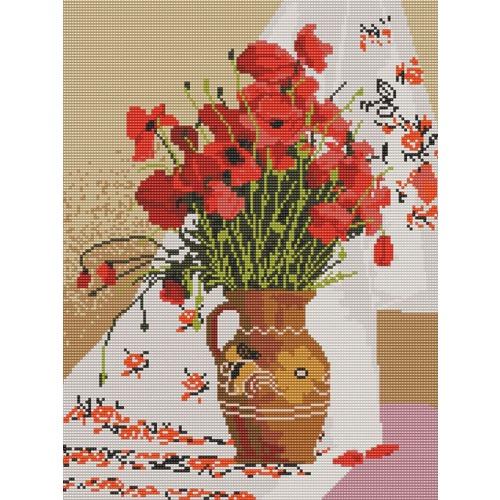 """Канва/ткань с нанесенным рисунком Конёк """"Украинский натюрморт"""""""