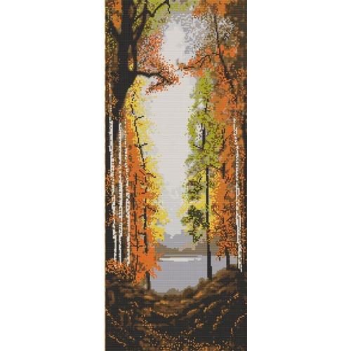 """Канва/ткань с нанесенным рисунком Конёк """"Осень"""""""