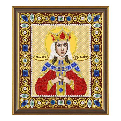 """Набор для вышивания бисером Nova sloboda """"Св. Блгв. Царица Тамара"""""""