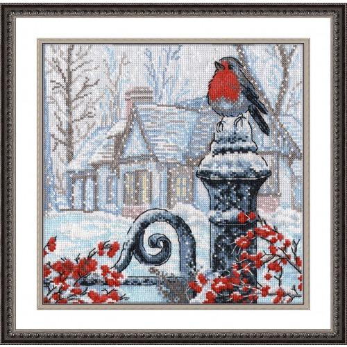 """Набор для вышивания крестом Овен """"Рождественское утро"""""""