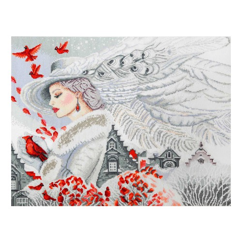 """Набор для вышивания крестом Марья искусница """"Зима идет..."""""""