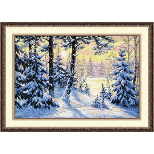 """Набор для вышивания крестом Овен """"Зимний лес"""""""