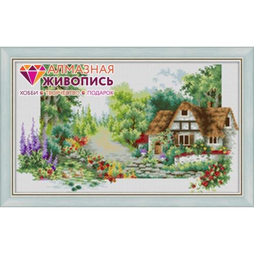 """Набор для выкладывания мозаики Алмазная живопись """"Летний домик"""""""