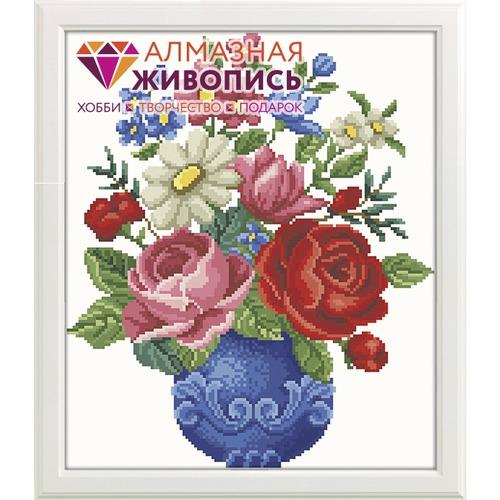 """Набор для выкладывания мозаики Алмазная живопись """"Букет цветов"""""""