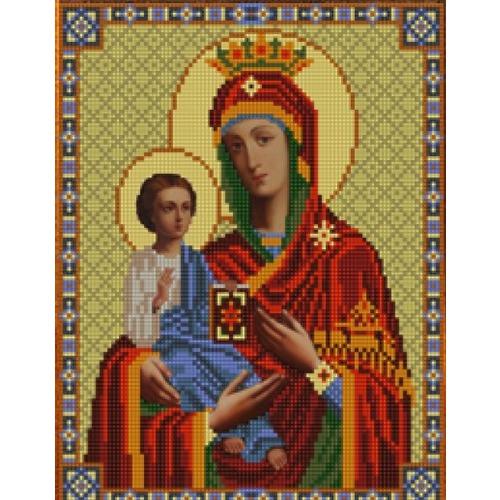 """Канва/ткань с нанесенным рисунком Конёк """"Богородица Троеручница"""""""