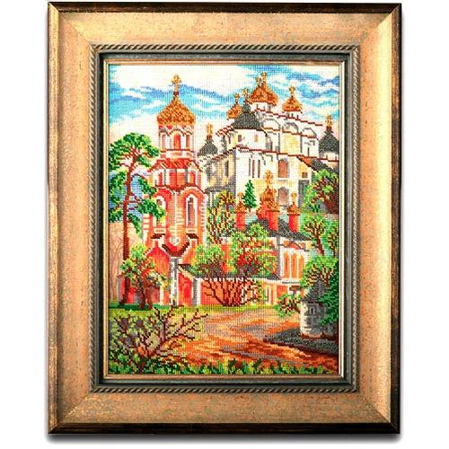 """Набор для вышивания бисером Радуга бисера (Кроше) """"Сретенская церковь"""""""