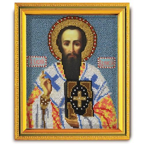 """Набор для вышивания бисером Радуга бисера (Кроше) """"Св. Василий Великий"""""""
