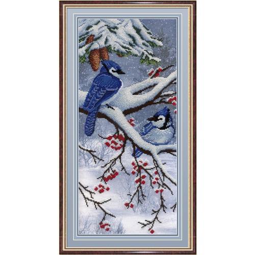 """Набор для вышивания крестом М.П. Студия """"Зима"""""""